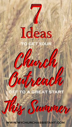 Summer is here! With the warmer weather and more daylight hours at your disposal, summer is a great time to vamp up your church outreach efforts. We would like to share with you 7 great ideas to help you in your church outreach ministry. Church Outreach, Church Fundraisers, Church Ministry, Ministry Ideas, Womens Ministry Events, Christian Women's Ministry, Church Events, Church Activities, Sunday School