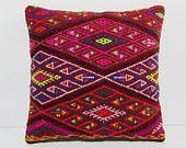 moroccan cushion 18x18 art pillow cover bohemian throw pillow large sofa pillow…