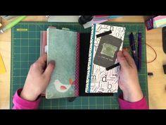 Midori Travelers Notebook set up