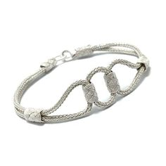 1000 Carat Hand Knitted Casing Unisex Bracelet 5 midyat silver world with the most affordable price I Love Heart, Sterling Silver Cuff Bracelet, Macrame Bracelets, Most Beautiful Pictures, Jewelry Collection, Elsa, Unisex, Paracord, Accessories