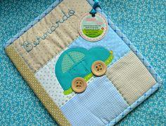 Porta carteirinha de vacinas Bernardo - Bambino by Maria Sica, via Flickr