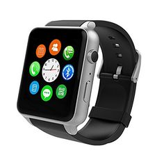 Naladoo GT88 NFC Life Waterproof Smart Watch Heart Rate Monitor Wrist Watch (Silver) ** Want to know more, click on the image.