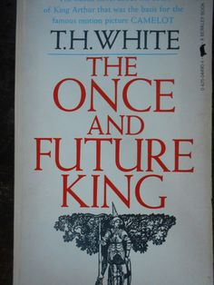 The Once and Future King by T. H. White. Paperback 1966. Paperback: good to fair vintage condition, strong spine, tight binding, clean interior, some fading, notch on cover as pictured, corner tear of back cover as pictured