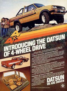 Gosh, Yes - Vintage Ads! Nissan, 1980