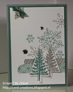 Scraps'! by Diana #Stampin'Up! #Endless Wishes # Festival of Trees