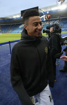 Jesse Lingard of Manchester United is interviewed after the Premier League match between Leicester City and Manchester United at The King Power Stadium on February 2019 in Leicester, United. Get premium, high resolution news photos at Getty Images Football S, Football Match, Real Madrid, Lingard Manchester United, Premier Liga, Jesse Lingard, Marcus Rashford, England Football, Premier League Matches