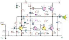 Simple 12V UPScircuit Naza Layout Circuit, Power