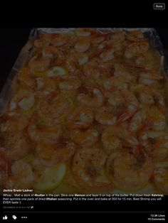 Yummy easy shrimp
