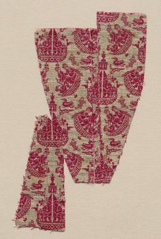 Iran, Safavid, 17th century, tabby weave, double cloth; silk, Overall - h:15.90 w:12.10 cm (h:6 1/4 w:4 3/4 inches). Purchase from the J. H. Wade Fund 1928.651