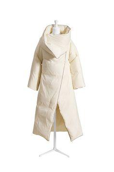 Margiela for H&M, Duvet Coat, $349, available at H&M. #refinery29 http://www.refinery29.com/margiela-hm#slide-5