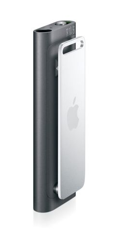 Check this out on leManoosh.com: #Aluminum #Apple #Extrusion #Grey #hand #Hinge #I Pod #Minimalist