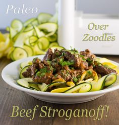 Paleo Beef Stroganoff