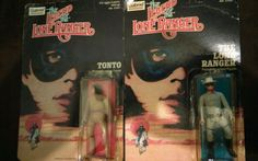 UNPUNCHED THE LEGEND OF THE LONE RANGER NEW BLISTER & TONTO MADE BY GABRIEL 80's #GABRIEL