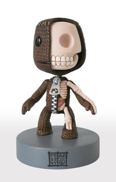 3d modeling, anatomy, creative, Inspiration, sculptures,sackboy... sold by artist, on ebay auction. sold out :/