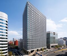 "Shimizu Corporation Head Office in Tokyo, Japan.  ""World's Least CO2 Emitting Building."""