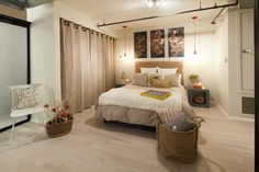 IDEA ONLY     http://www.houzz.com/closet-curtain    Closet Curtain Design Ideas, Pictures, Remodel, and Decor