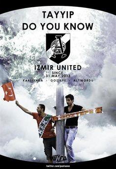 #izmir #occupygezi İzmir United