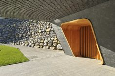 "Entrance, Villa ""On the deck into life"", Slovenia by Superform"
