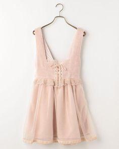 ボアジャンスカ Kawaii Clothes, Kawaii Outfit, Liz Lisa, Mode Shop, Princess Outfits, Kawaii Fashion, Japanese Fashion, Dress Me Up, Cotton Dresses
