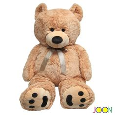 Amazon.com: Huge Teddy Bear - Tan: Toys & Games