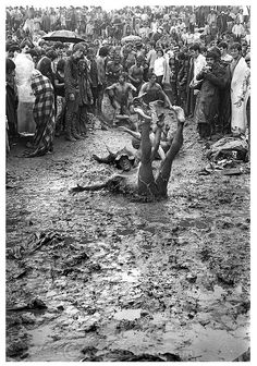 ...having fun in the mud...Woodstock, 1969...what an amazing experience this must have been...Ω