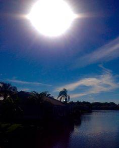 Sun over Perico Bay!