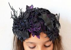 Hair accessories and hairpieces can add instant Halloween costume style to your look. Learn how to make spooky headbands with our DIY tutorial.