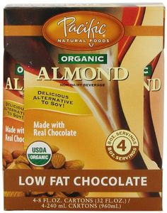 Pacific Beverages Naturally Almond Chocolate 4 pack, Gluten Free, 8-ounces (Pack of6) ** Check out this great product.