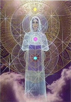 The Divine Feminine Archetype plays an important role in the evolution of Witchcraft throughout the ages. Paying homage and/or worship of the Goddess figure is central among most modern witches. Divine Goddess, Goddess Art, Divine Mother, Mother Goddess, Mother Mary, Chakras, Sacred Feminine, Visionary Art, Archetypes