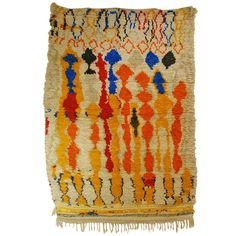 Shop moroccan and north african rugs and other antique and modern rugs from the world's best furniture dealers. Moroccan Style Rug, Modern Moroccan, Moroccan Rugs, African Rugs, Colonial Art, Vintage Textiles, Modern Rugs, Woven Rug, Floor Rugs