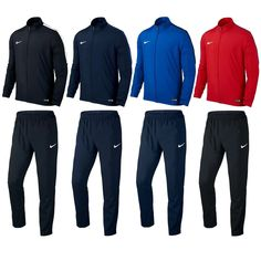 Other Boys Clothes Sizes 4 1067: Boys Nike Tracksuit Junior Woven Full Zip  Jogging Football
