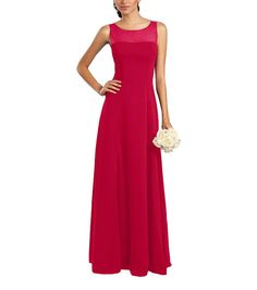 DescriptionAlfred Angelo Style 7340LFull length bridesmaid dressStrapless, bateau illusion necklineNatural waist, a-line flat front skirtChiffon