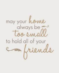 Binnenkant : Vriendschap at home