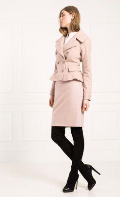 Moya Wool Jacket | Ladies Designer Jackets | Temperley London