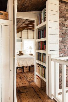 The Most Amazing Distressed Wood Floors innenarchitektur holz 38 Rustic Farmhouse Interior Design Ideas That Will Inspire Your 2018 Remodel Muebles Shabby Chic, Shabby Chic Decor, Farmhouse Furniture, Home Decor Furniture, Bedroom Furniture, Ikea Bedroom, Rustic Furniture, Farmhouse Bookcases, Country Cottage Furniture