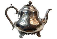 Silverplate Teapot on OneKingsLane.com