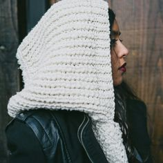 Create your own custom acoustic chamber : The Hood #AW15 Collection dropping soon! Bggknits.com #ethical #nycstyle #artisanal #urban #knitwear #BGGKnits #comingsoon #Brooklyn #Peru #TheWorld