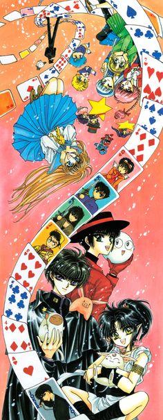 CLAMP, CLAMP School Detectives, Duklyon: CLAMP School Defenders, X, Fushigi no Kuni no Miyuki-chan, 20 Mensho ni Onegai!!