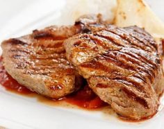 Amazing recipe for Grilled Dijon Pork Chops with Brown Sugar Glaze. Make this right on your George Foreman Grill. Prepare to be blown away!