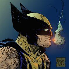Wolverine - Colored by me - McFarlane art by Nicochan3