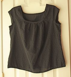 Sorbetto Top with Sleeves. Colette Patterns by CreateAViewDesigns, via Flickr