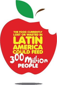 The food currently lost or wasted in Latin America could feed 300 million people