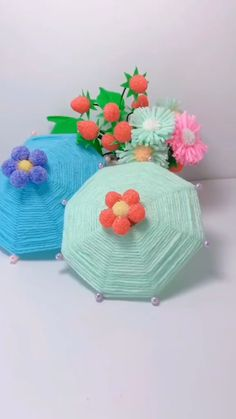 Cool Paper Crafts, Paper Flowers Craft, Diy Crafts For Gifts, Diy Arts And Crafts, Flower Crafts, Diy Craft Projects, Yarn Crafts, Craft Activities For Kids, Crafts For Kids