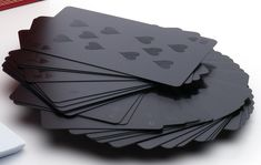 Matt black playing cards #MicraAttitude #nederland