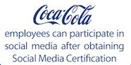 Clever people work on Coca-Cola's social media #RunwayDigital #SocialMedia
