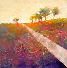 ☼ Painterly Landscape Escape ☼ landscape painting by Robert Burridge