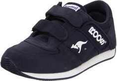 "KangaROOS Combat Retro H&L,Navy,7.5 M US Toddler KangaROOS. $48.00. Boot opening measures approximately 0.0000"" around. Made in Indonesia. Leather and textile. Rubber sole"