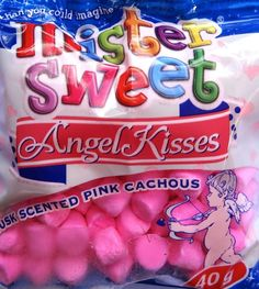 Mister Sweet Angel Kisses (Musk Scented Pink Cachous) - 40g #Satooz #SouthAfrica