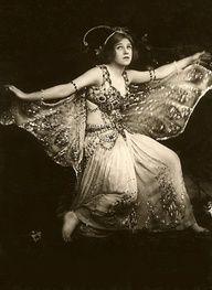 Phyllis Monkman in Butterflies 1908