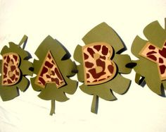 Jungle Baby Shower Banner by PearlySkies on Etsy
